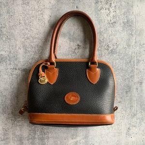 Vintage DOONEY & Bourke Small Domed Satchel Bag